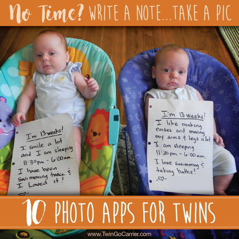 10 photo apps for twins
