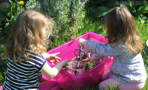 twin sensory play article on twin blog