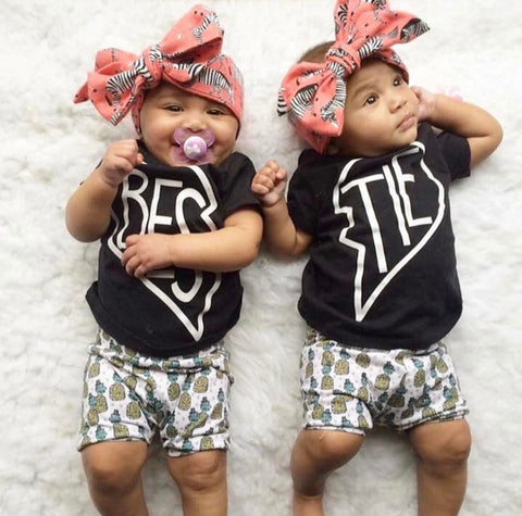 Trendy twins company | cute twin outfit