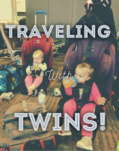 twins traveling on airplane twin blog