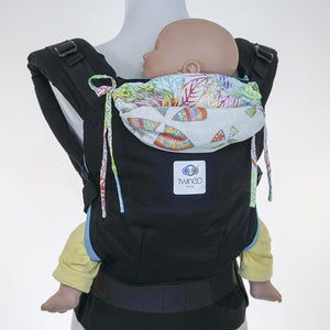 Custom Hood Set || Rainbow Leaf - TwinGo Carrier - 2