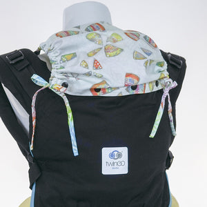 Custom Hood Set || Rainbow Leaf - TwinGo Carrier - 3
