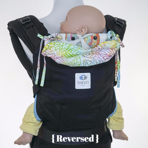 Custom Hood Set || Rainbow Leaf - TwinGo Carrier - 5