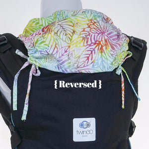 Custom Hood Set || Rainbow Leaf - TwinGo Carrier - 6