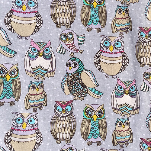 Custom Hood Set || Owls at Night