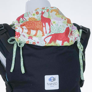 Custom Hood Set || Safari Fun - TwinGo Carrier - 1