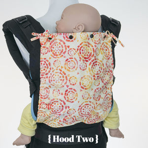 Custom Hood Set || Safari Fun - TwinGo Carrier - 4