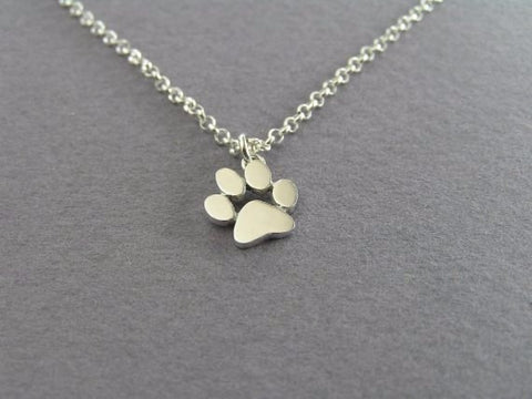 Paw Print Pendant Necklaces- Proceeds to Belize Humane Society - Awkward Turtle