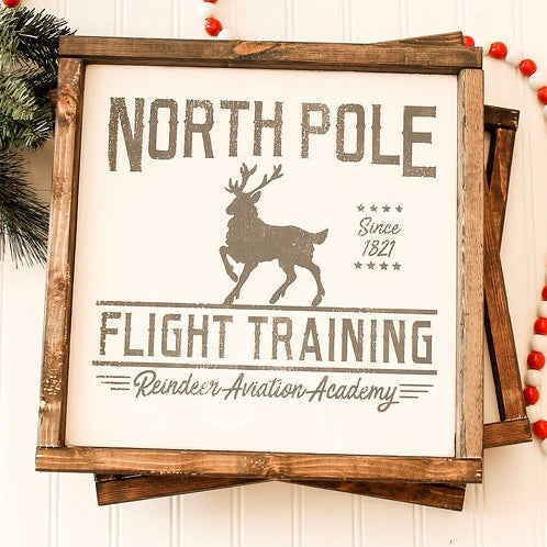 North Pole Flight Training
