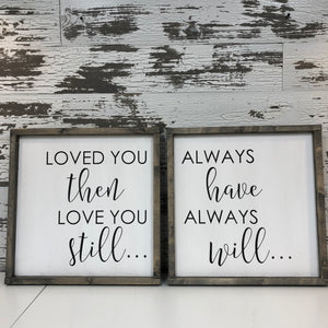 Loved You Then (2 part)