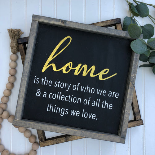 Home is the Story