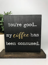 Coffee Double Sided | Tabletop Sign