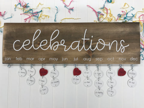 Celebrations Sign Kit (SHOP NOW ONLY)
