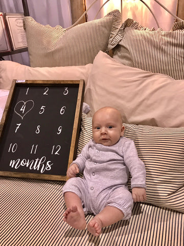 Baby Monthly Chalkboard