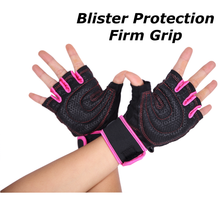 WEIGHTLIFTING GLOVES (Pink)