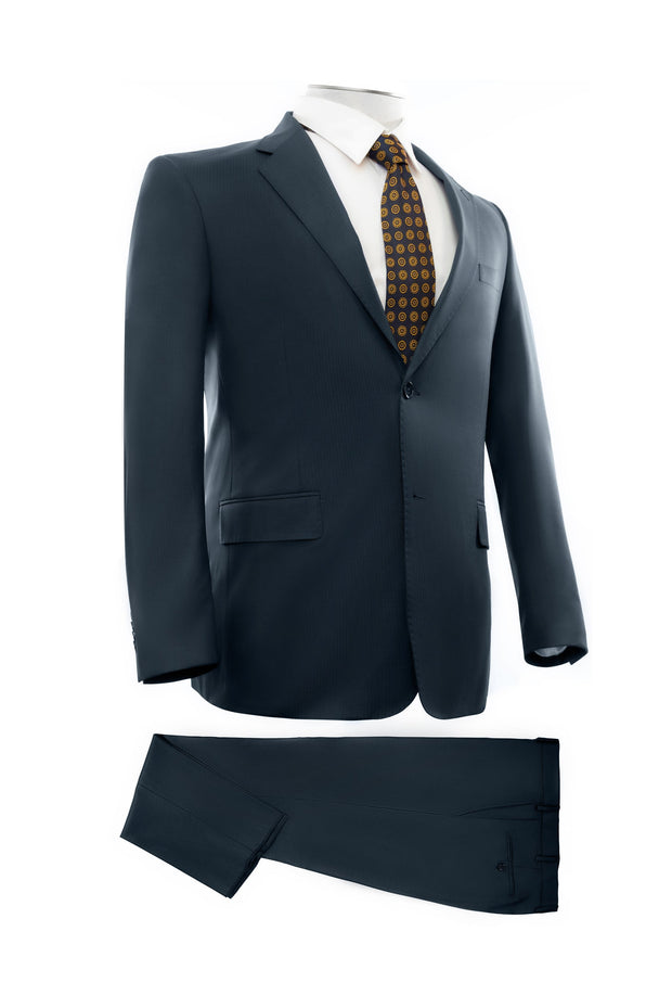 Navy Executive Fit Suit - Mastroianni Fashions