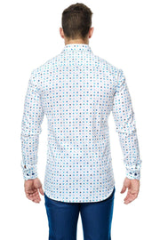 Maceoo Puzzle Dot Classic Shirt - Mastroianni Fashions