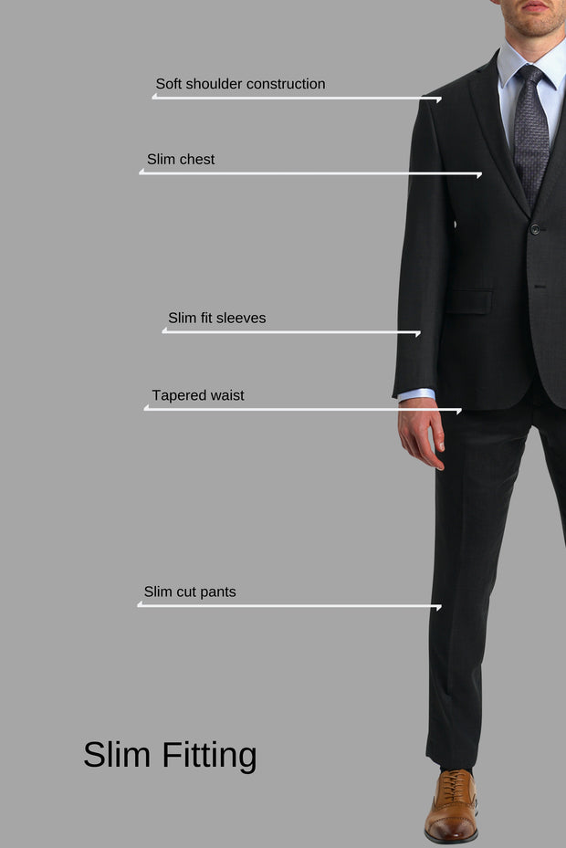 Lazarou Stone European Fit Suit