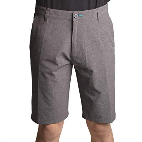 Burnside Hybrid Shorts Grey 34 - Mastroianni Fashions
