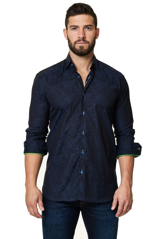 Maceoo Classic Engineering Shirt - Mastroianni Fashions