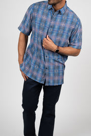 Bassiri Vertical Striped Casual Button Shirt