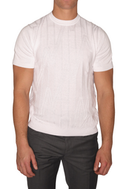 Lavane Short Sleeve Knit Shirt - Mastroianni Fashions