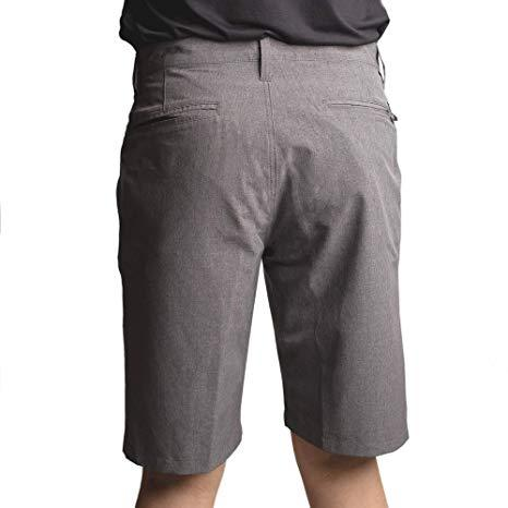 Burnside Hybrid Shorts Grey 40 - Mastroianni Fashions