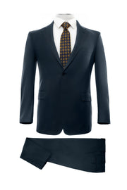 Lazarou Navy Executive Fit Suit