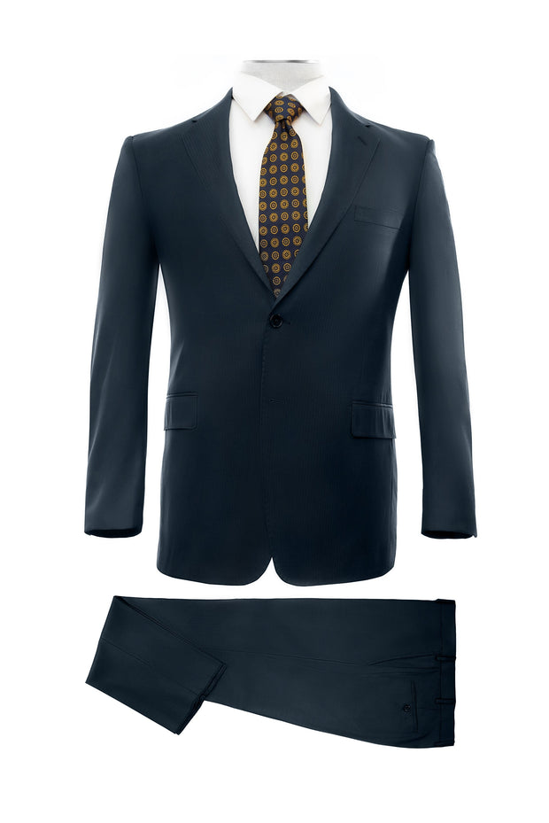 Lazarou Navy Executive Fit Suit - Mastroianni Fashions