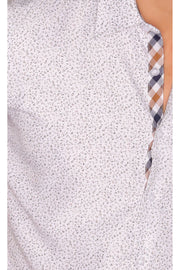 Sambuca Dotted White Shirt