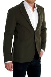 Pal Zileri Dark Olive Summer Sport Coat
