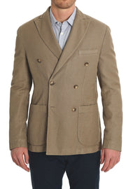 Paul Zileri Beige Retro Jacket - Mastroianni Fashions