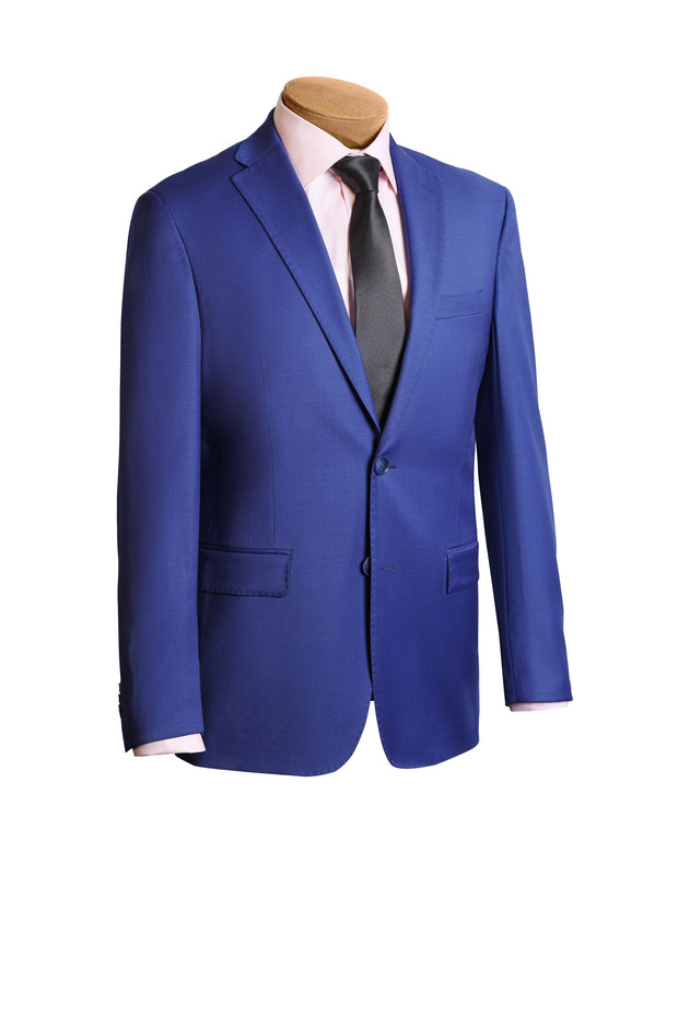 Lazarou Light Blue Modern Suit