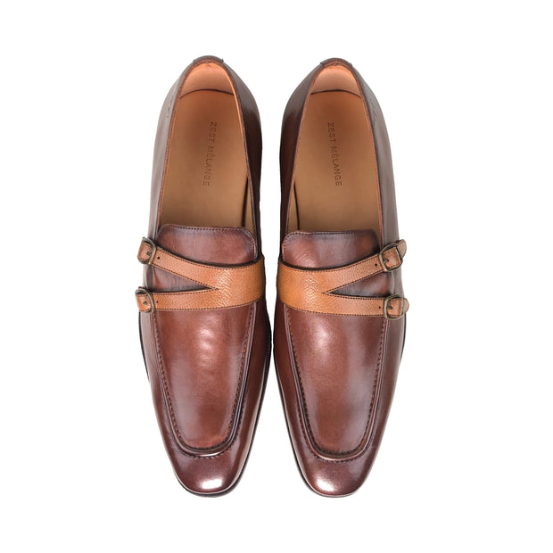 GABRIAL Monk Strap Loafer