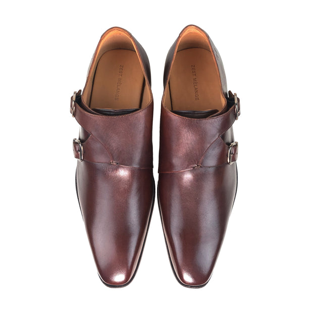 FAHIM Double Monk Strap