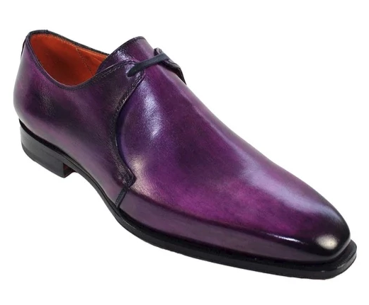 CALF SHOE 62 PURPLE - Mastroianni Fashions