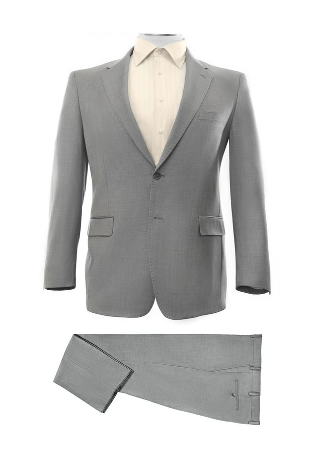 Lazarou Grey Executive Fit Suit