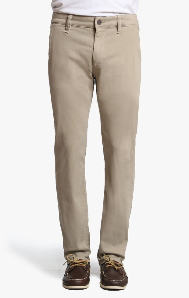 34 Heritage Stretch Chino Cream Twill-Pants-Mastroianni Fashions