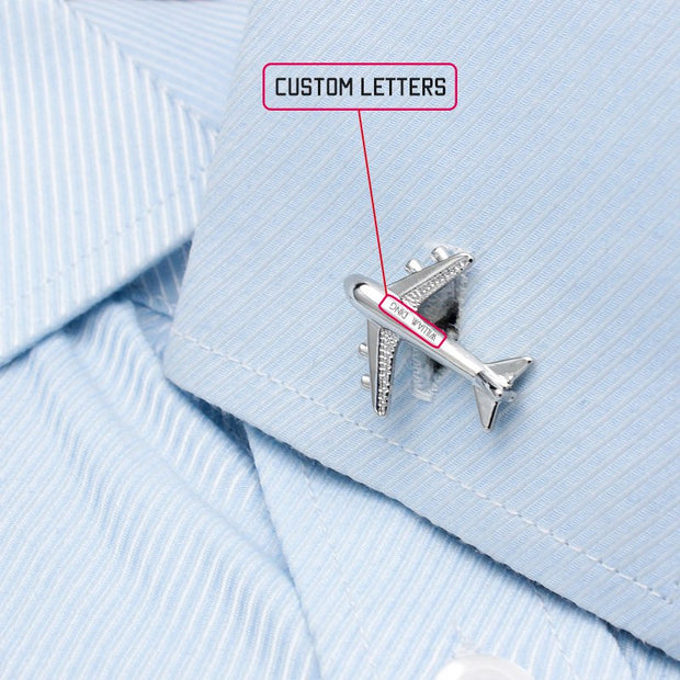 Air Bus Cufflinks - Mastroianni Fashions