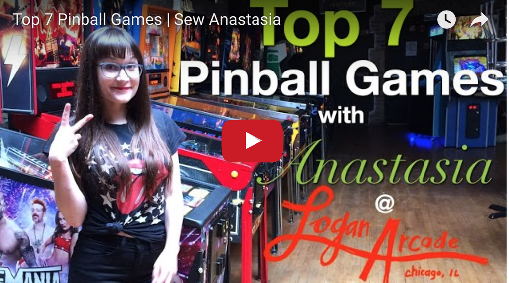 #AnastasiaHangouts | Top 7 Pinball Games At Logan Arcade
