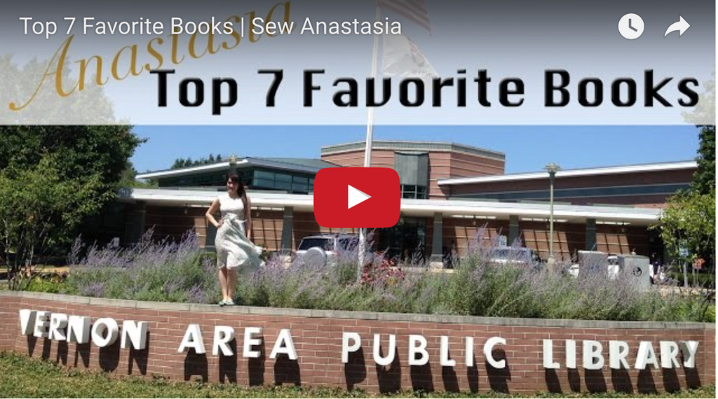 Anastasia's Top 7 Favorite Books