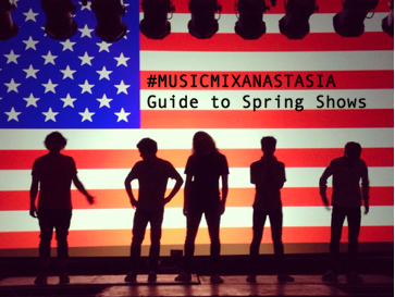 #musicmixanastasia | Guide to Spring Shows in Chicago | March 8th, 2017
