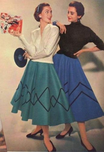 19d87ebd4ba The History of the 50 s Circle Skirt
