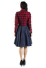 Longsleeve Buffalo Plaid Shirtdress