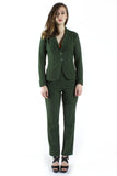 Green Tweed Blazer