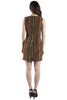 Snake Print Sheath Dress
