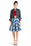 Plaid Flannel Circle Skirt