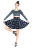 Dancing Skeletons Circle Skirt