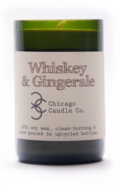Chicago Candles Co. - Whiskey & Gingerale