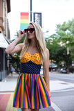 Halter Rainbow Dress